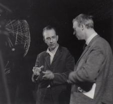 Constant and Simon Vinkenoog, 1962