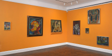 Cobra works by Asger Jorn and Constant