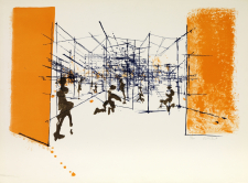 Constant, Labyrinth, 1968