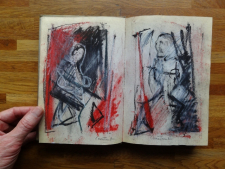 2012 Sketchbook, signed, no year I