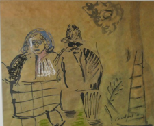 2014 Gouache on paper, 1951