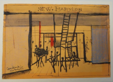 2016 Gouache on paper, 1960
