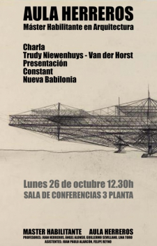 Lecture by Trudy at the Master Habilitante en Arquitectura