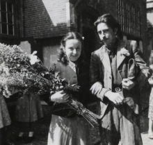 Wedding Constant & Matie van Domselaer, 1942