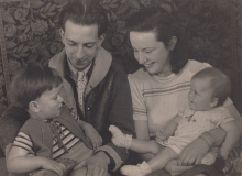 Victor, Constant, Matie and Martha, ca 1946 [II]