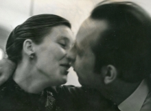 Constant and his third wife, Nel Kerkhoven, 1961