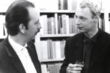 Constant and Simon Vinkenoog, ca 1963