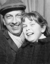 Constant and his daughter, Eva, ca 1964