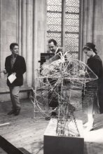 Nic Tummers, Constant and Nel in the Dominicanerkerk, 1965