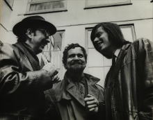 Constant, Johny Jacobs and Victor in Copenhague, 1968
