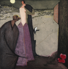 Constant Nieuwenhuys-Cyrano déclare son amour, 1979
