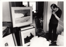 Constant and Gisela Burkamp, 1983