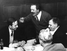 Constant Nieuwenhuys, Pinot Gallizio and Asger Jorn in München, 1959