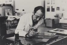 Constant Nieuwenhuys at Arte Milan in 1979