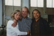 Trudy and Constant Nieuwenhuys and Homero Aridjis at Wittenburg, 1995