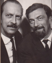 Christoph and Constant in Berlin, 1964