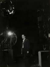 Constant Nieuwenhuys-TV recording with Simon Vinkenoog, 1962