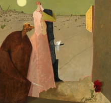 Constant Nieuwenhuys-Cyrano déclare son amour, 1976