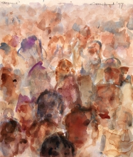 Constant Nieuwenhuys-The Crowd, 1997