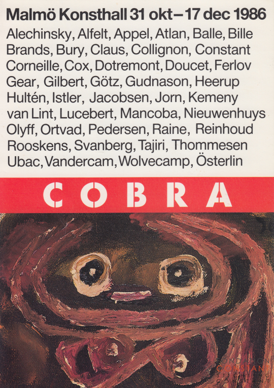 COBRA | As reflected by the Karel Van Stuijvenberg Collection, 1986