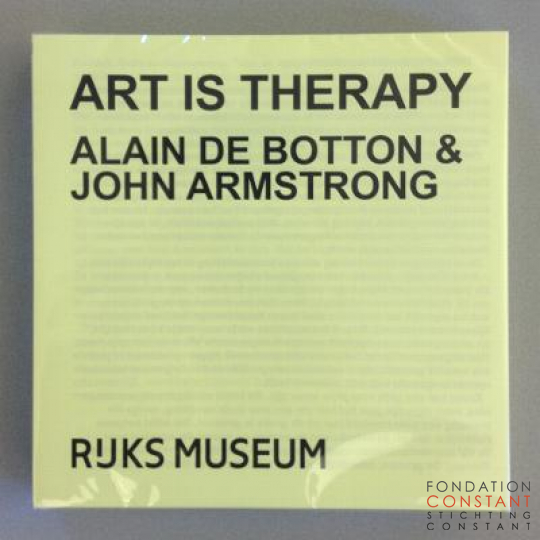 Art is Therapy-Rijksmuseum, 2014