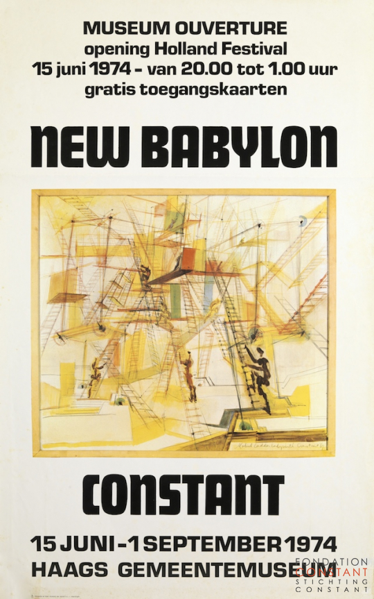 Constant Nieuwenhuys-New Babylon-GM, 1974