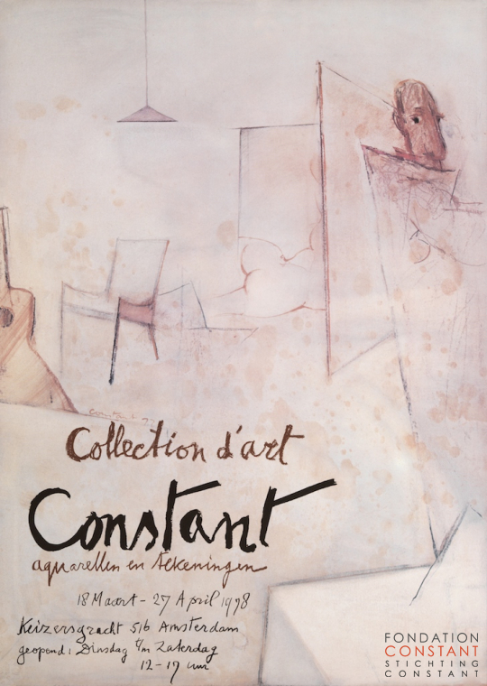 Constant Nieuwenhuys, aquarellen en tekeningen-Collection d'Art, 1978