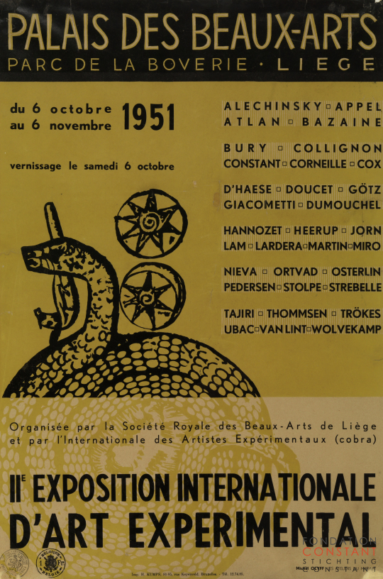 IIe Exposition Internationale d'Art Experimental, 1951
