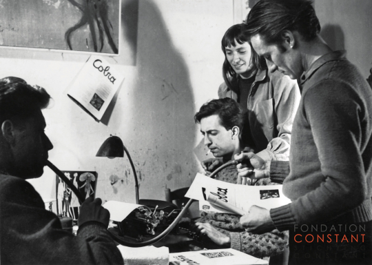 Ortvad, Constant, Else Alfelt and Corneille, 1949