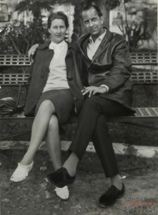Constant and Nel in Seville, 1962