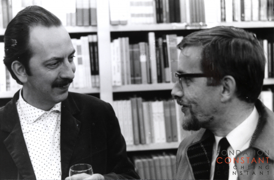 Constant and Jan Elburg, ca 1963