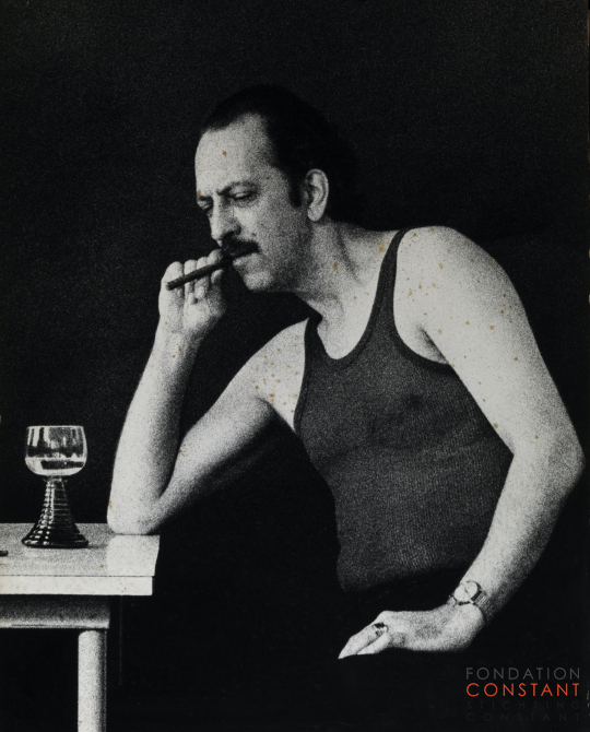 Constant with Cigar, 1960 ca