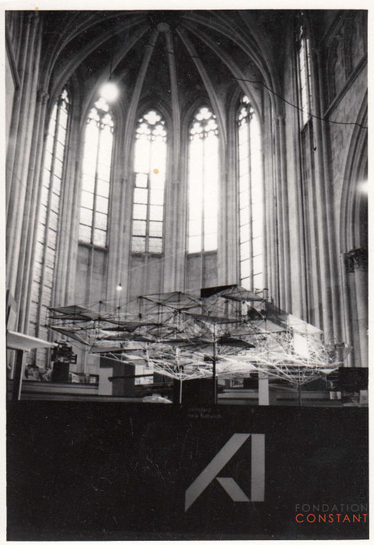 New Babylon exhibition Dominicanerkerk Maastricht, 1965