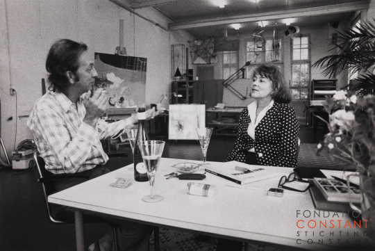Constant and Fanny Kelk at Wittenburg, 1974-2 photo Victor Nieuwenhuijs