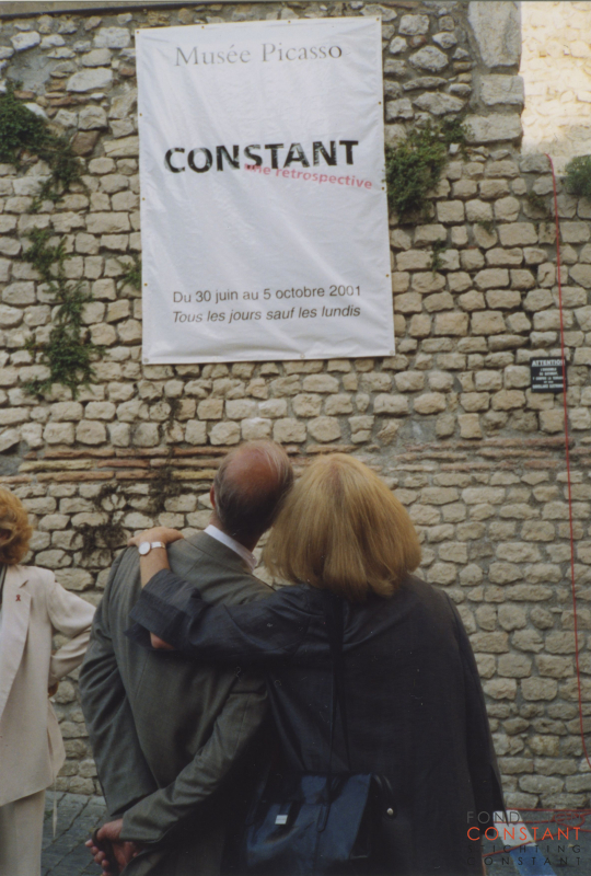Rétrospective of Constant Nieuwenhuys' work at the Picasso Museum Antibes, 2001