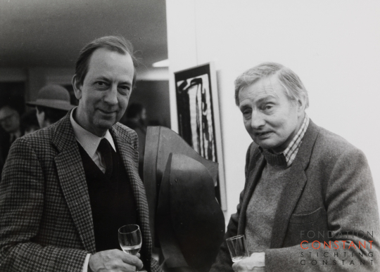Constant Nieuwenhuys-Constant and Stephen Gilbert, 1980