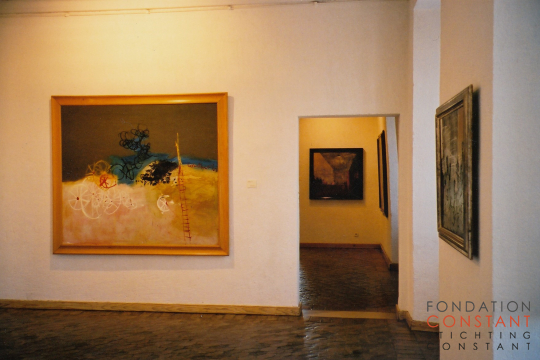 The opening of the exhibition Rétrospective, Picasso Museum Antibes.