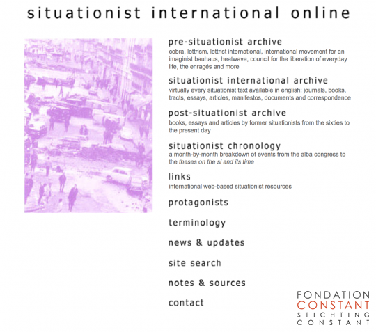 Situationist International Online