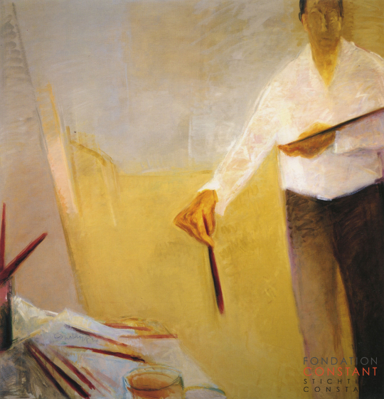 Constant Nieuwenhuys-Autoportrait first version, 1991