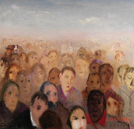 Constant Nieuwenhuys-The Crowd II, 1996