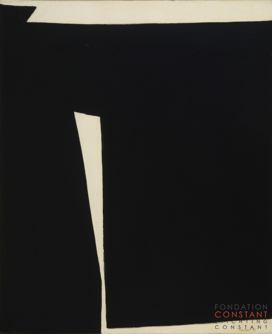 Constant Nieuwenhuys-Composition in black and white, 1953
