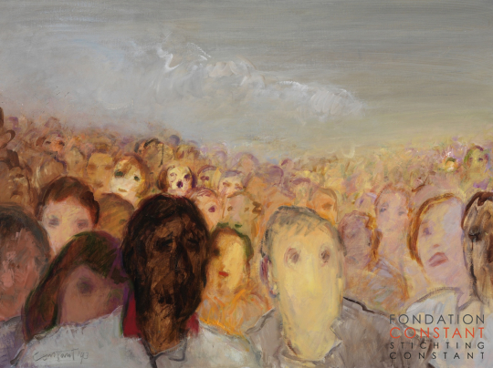 Constant Nieuwenhuys-The Crowd I, 1993