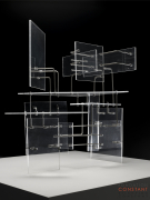 Constant Nieuwenhuys-Construction with Transparent Planes, 1954-2