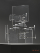 Constant Nieuwenhuys-Construction with Transparent Planes, 1954-5